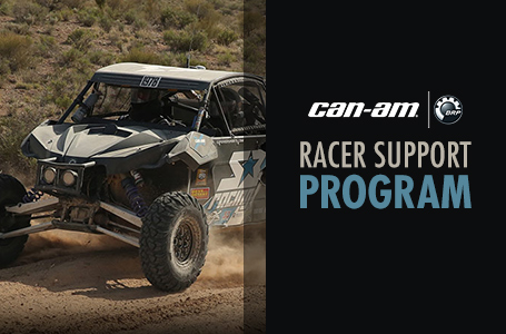 Can-Am Racer Support Program