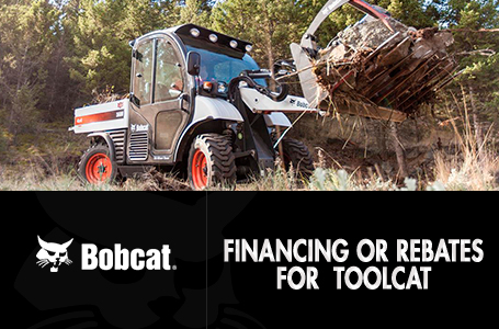Financing or Rebates for Toolcat