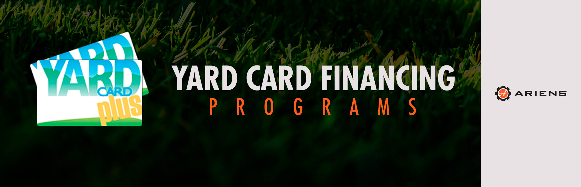 Ariens: Consumer/Commercial Yard Card Financing Programs