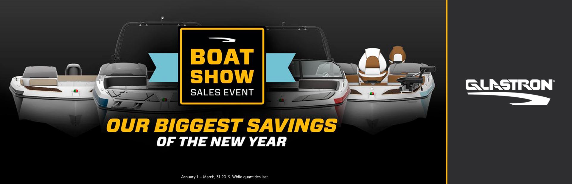 Glastron: Boat Show Sales Event