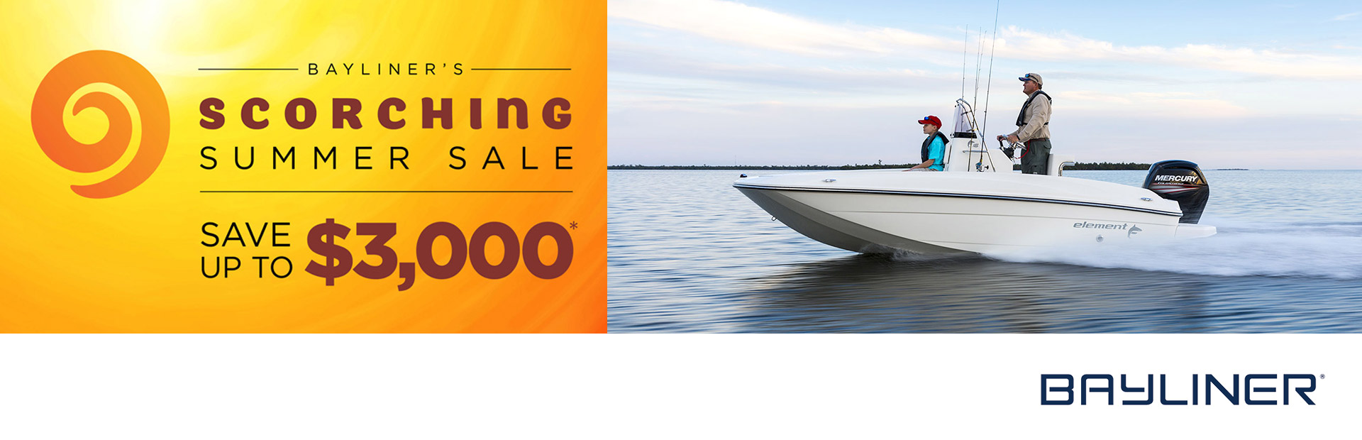 Bayliner's Scorching Summer Sale