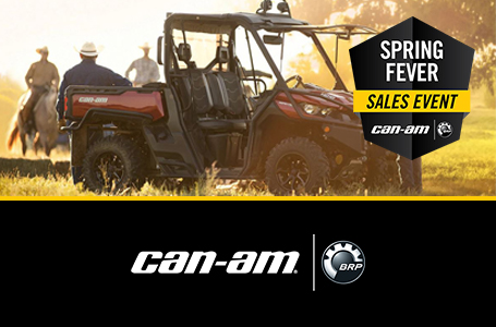 Spring Fever Sales Event-Defender