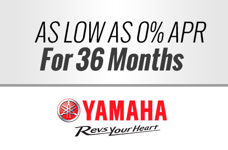 As Low As 0% APR for 36 months