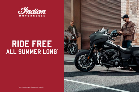 Ride Free All Summer Long