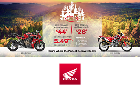 Honda Fall Excursions Event