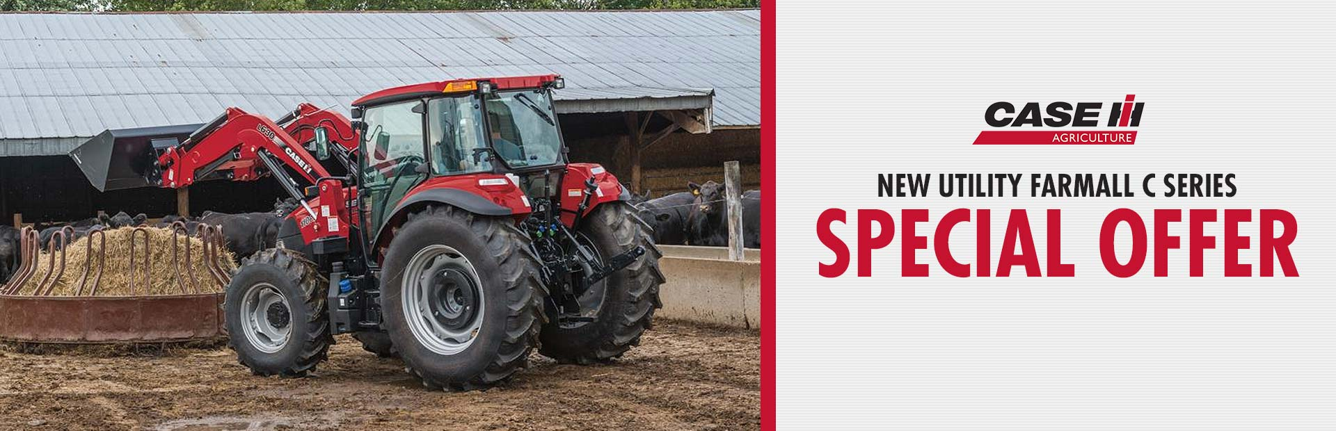 New Utility Farmall C Series Special Offer