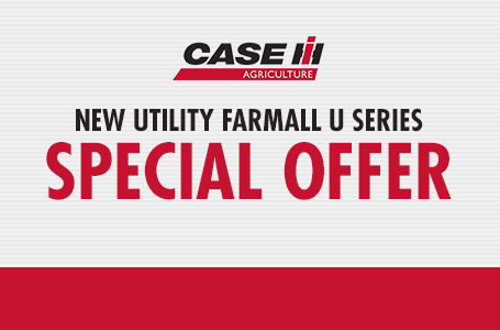 New Utility Farmall U Series Special Offer