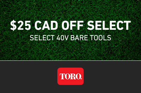 $25 CAD OFF Select Select 40V Bare Tools