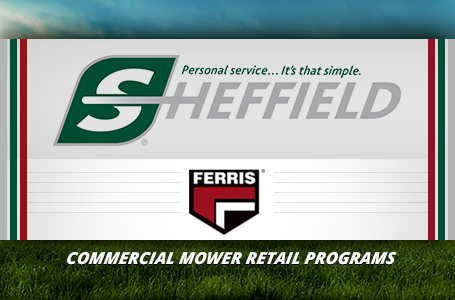 Commercial Mower Retail Programs-Sheffield