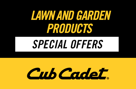 Lawn and Garden Products Special Offers