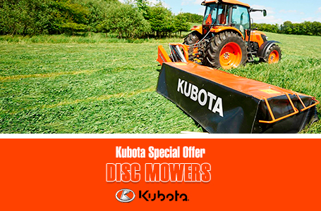 Kubota Special Offer -Disc Mower Conditioners