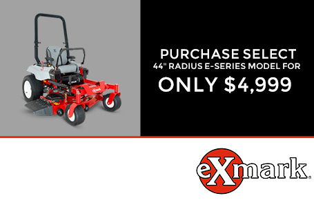 Purchase Select 44'' Radius E-Series Model $4,999