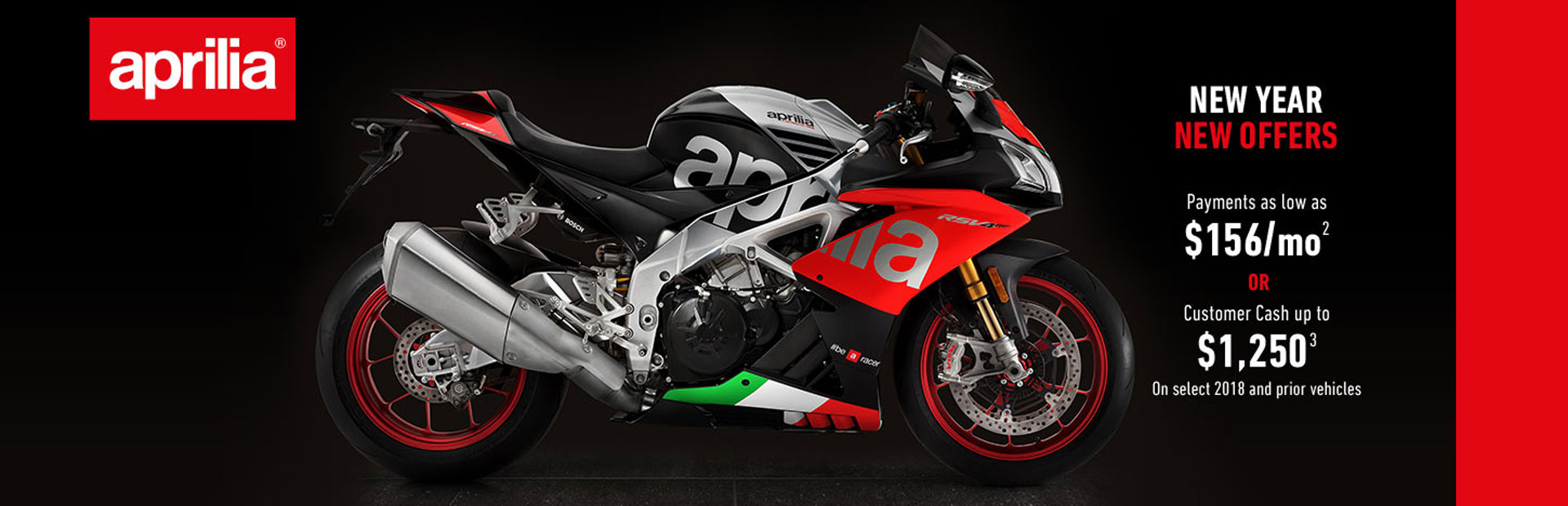 New Season Specials From Aprilia