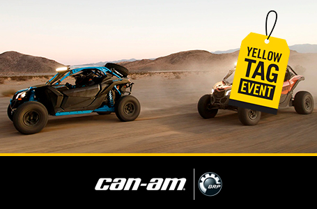 Yellow Tag Event - Maverick X3 Rebates