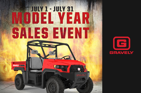 Gravely Atlas JSV Summer Sales Event