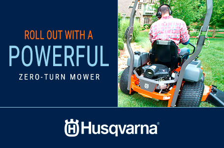 Roll Out With a Powerful Zero-Turn Mower