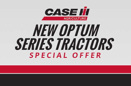 New Optum Series Tractors Special Offer