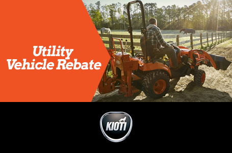 Utility Vehicle Rebate