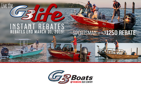 Live the G3 Life Instant Rebates