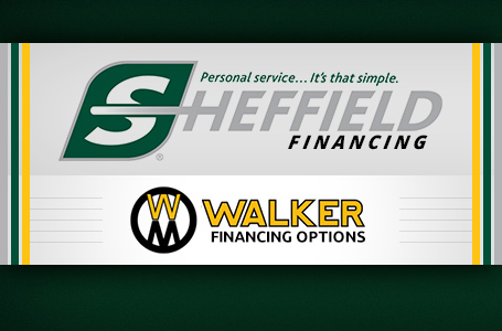 Walker Financing Options (Sheffield Financial)