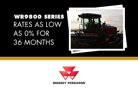WR9800 Series - Rates as low as 0% for 36 Months