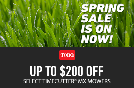 Up to $200 Off Select TimeCutter MX Mowers