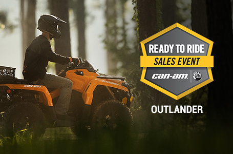 Ready to Ride Sales Event - OUTLANDER