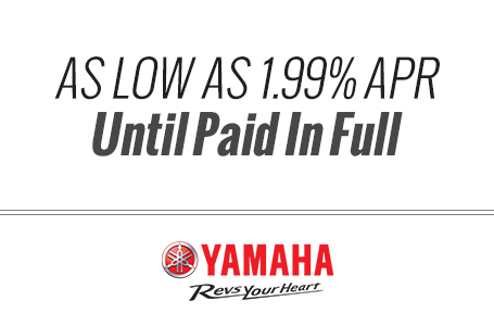 As Low As 1.99% APR Until Paid In Full