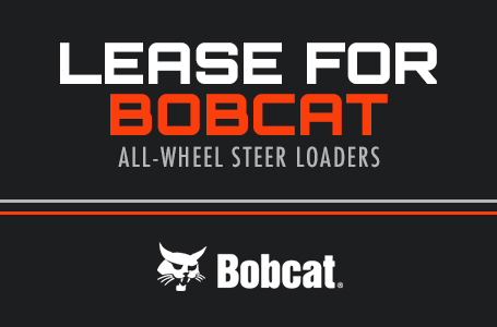 Lease for Bobcat All-Wheel Steer Loaders