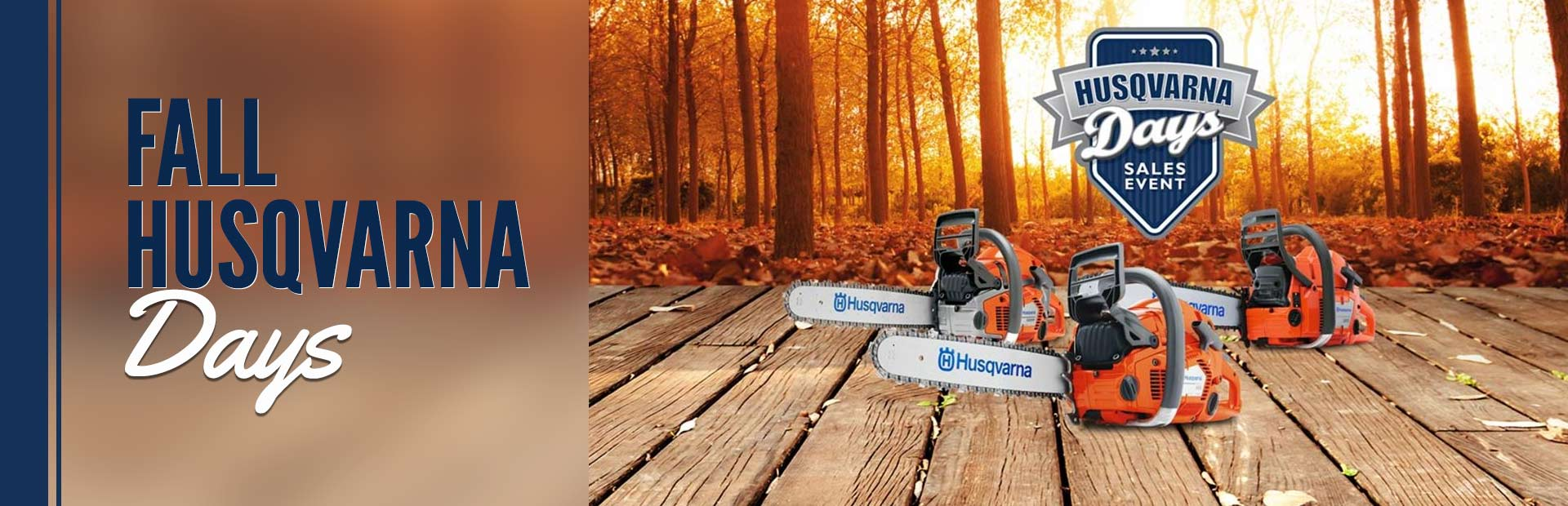 Fall Husqvarna Days