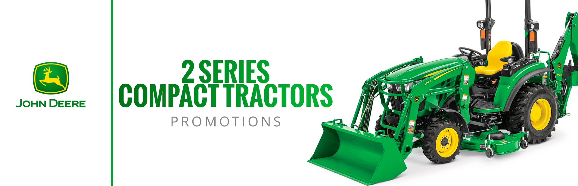 2 Series Compact Tractors