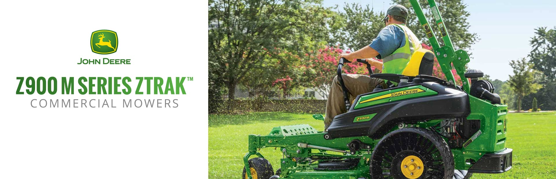 Z900 M Series ZTrak™ Commercial Mowers