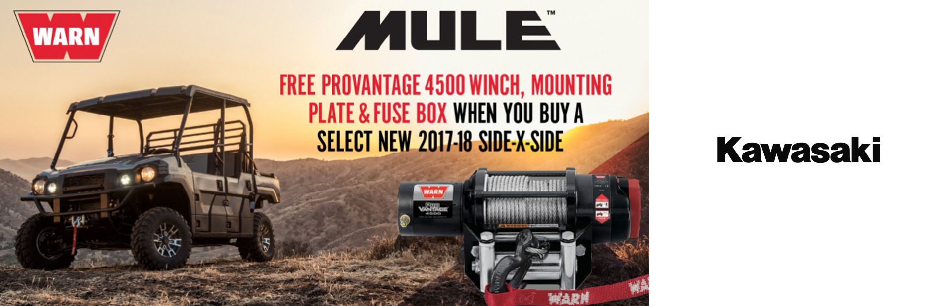 WARN Free Winch Offer
