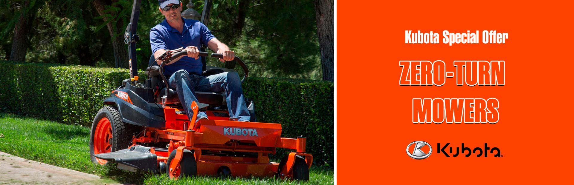 Kubota Special Offer - Zero-Turn Mowers