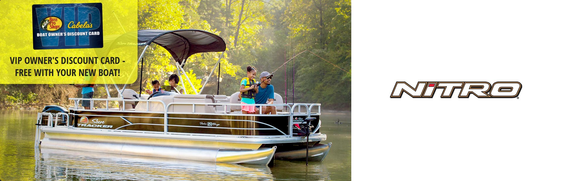 Nitro: Bass Pro/Cabela's VIP Card w/ NITRO Boat Purchase
