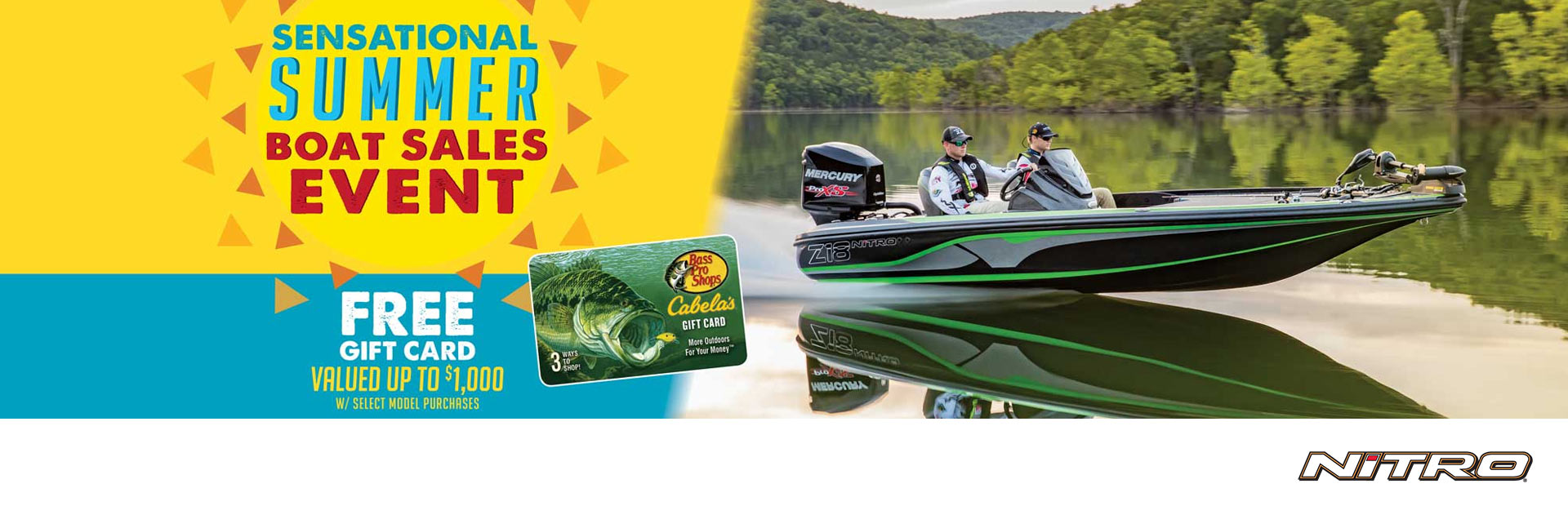 Nitro: The Sensational Summer Boat Sales Event