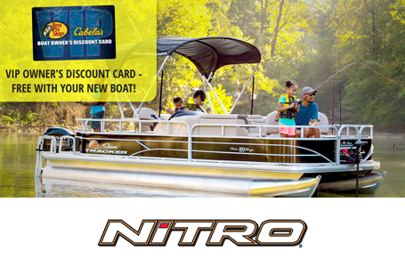 Bass Pro/Cabela's VIP Card w/ NITRO Boat Purchase