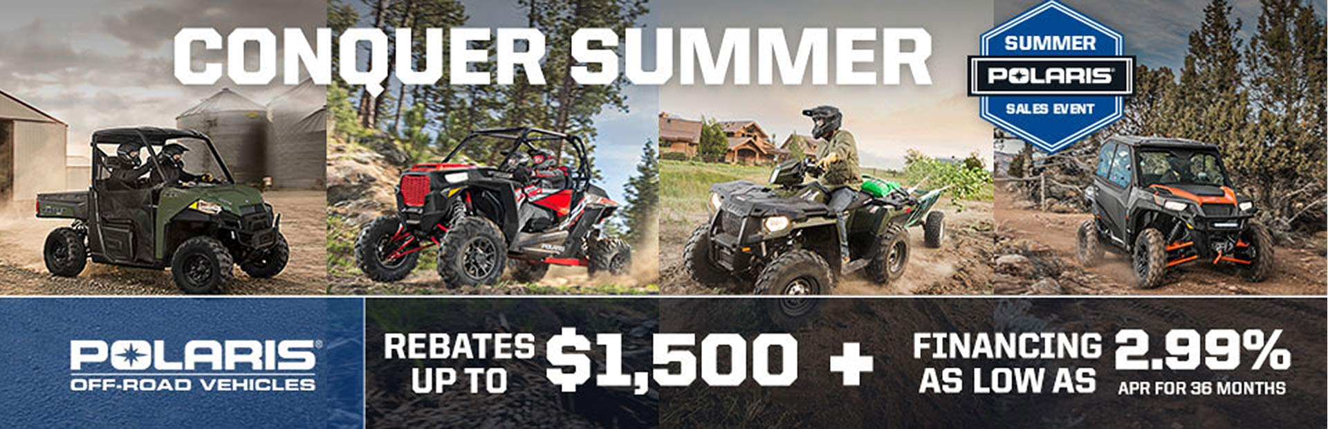 Polaris Summer Sales Event - Off-Road