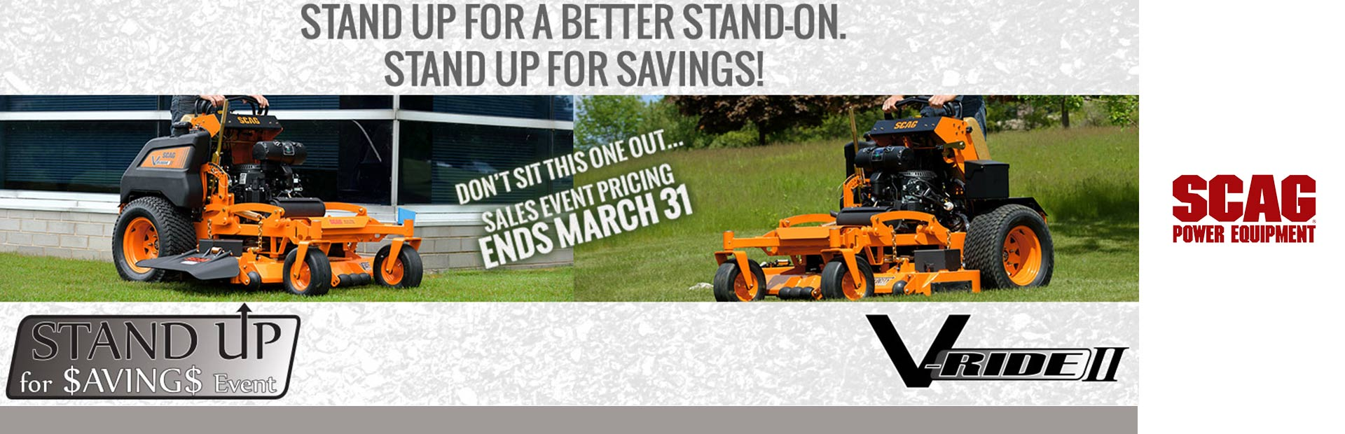 Stand Up for Savings Event