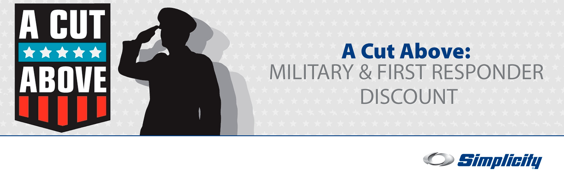 A Cut Above: Military & First Responder Discount