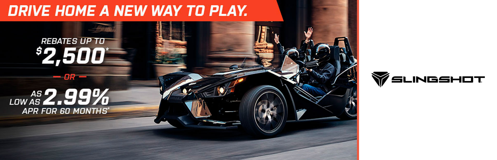 Slingshot - Drive Home A New Way To Play