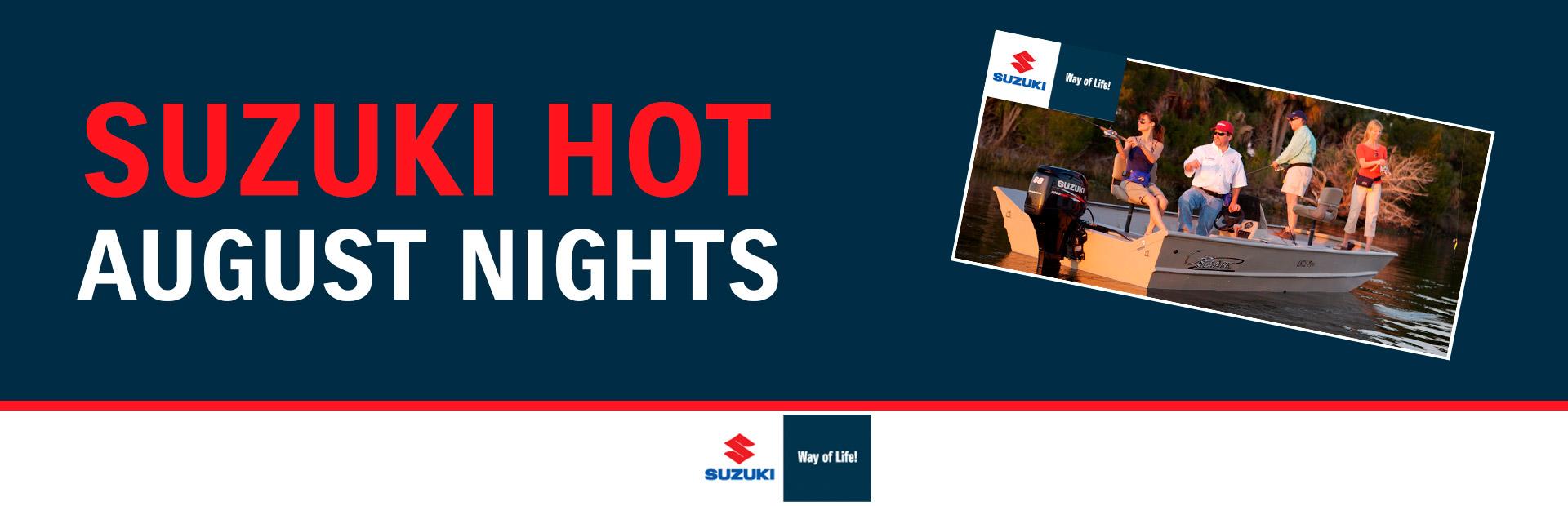 Suzuki - Suzuki Hot August Nights Ellis Marine Brunswick, GA