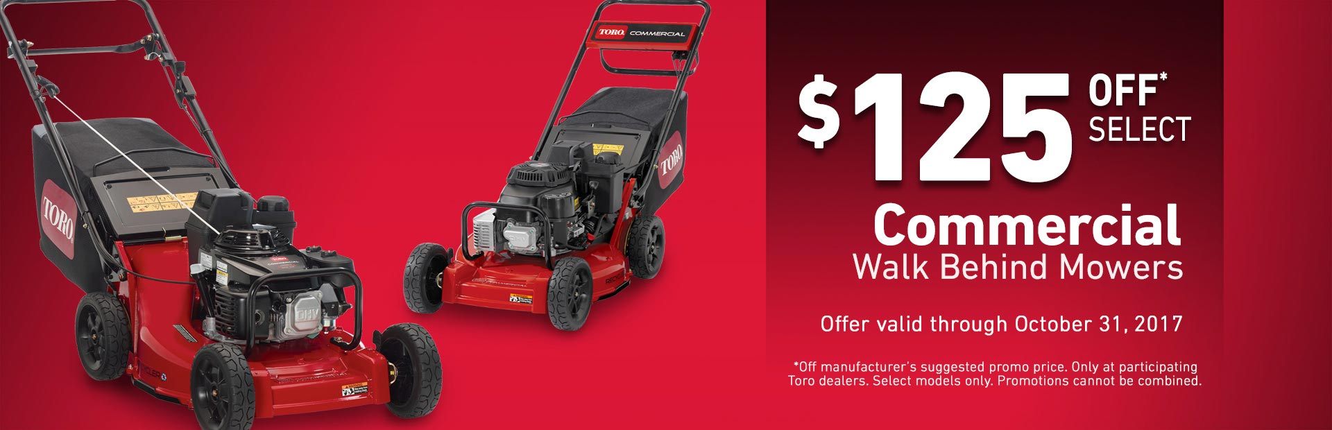 Toro: $125 Off Select Heavy Duty Recycler Mowers