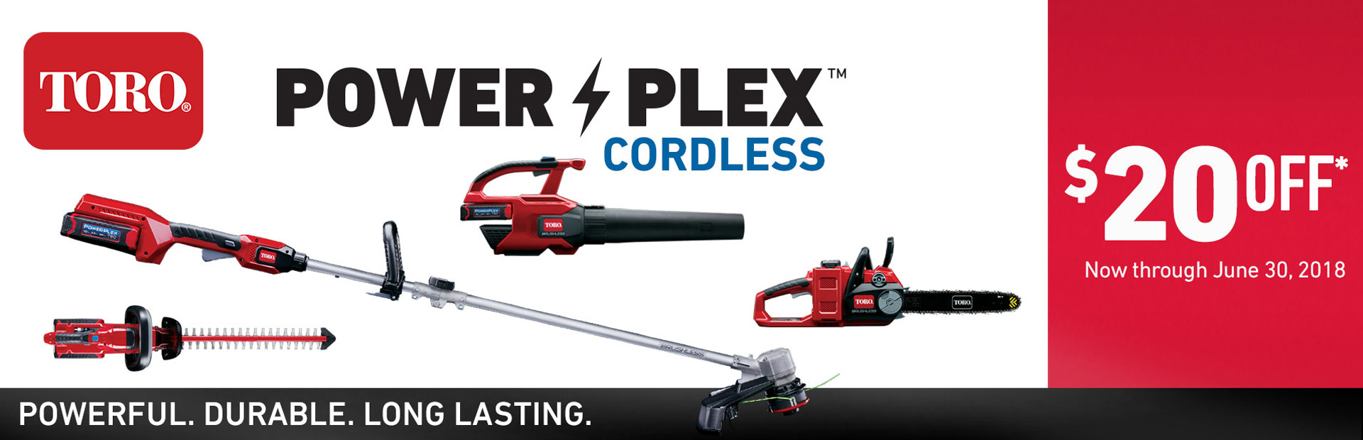 $20 Off PowerPlex 40V Products