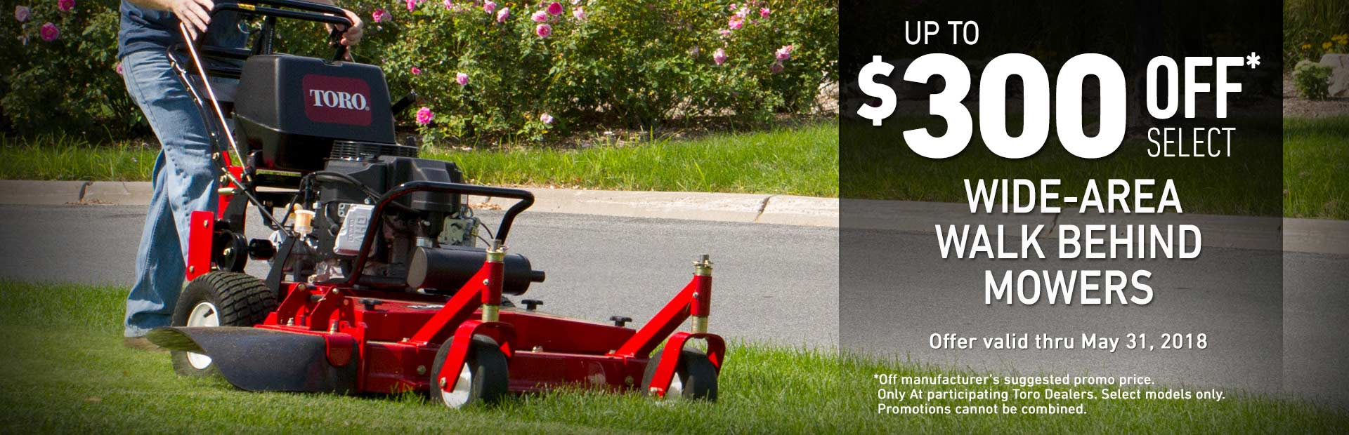 Toro: $300 off Mid-Size Fixed Deck & Floating Deck Gear