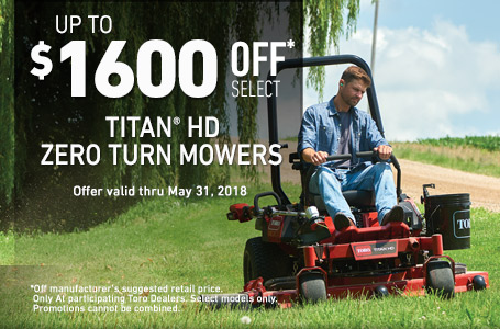 Up to $1600 off MSRP on TITAN HD