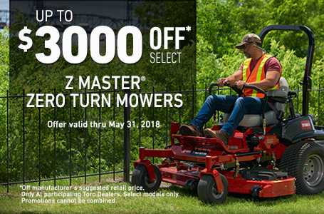 Up to $3000 off MSRP on Z Master
