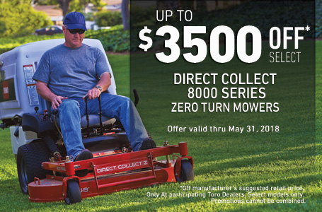 $3500 off MSRP on 8000 Series Direct Collect