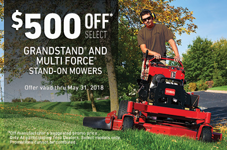 $500 off GrandStand