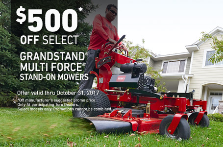 $500 Off Select GrandStand MULTI FORCE Models
